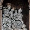 Alessandro Algardi, main altar, sculptures by Ercole Ferrata and Domenico Guidi, Church of San Nicola da Tolentino