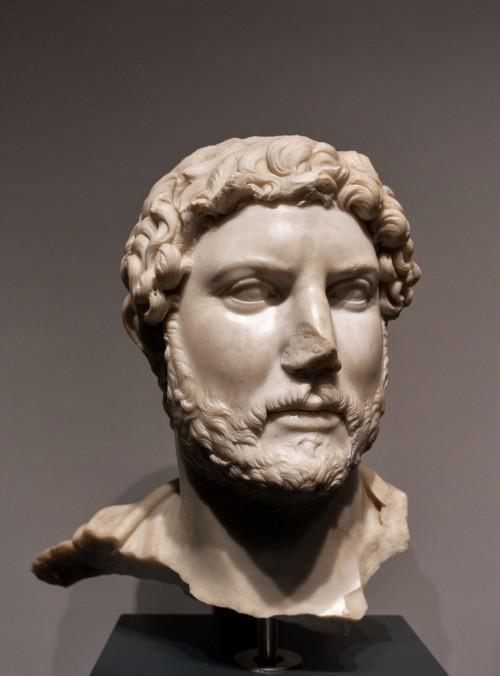 Głowa Hadriana, Museo Nazionale Romano, Palazzo Massimo alle Terme