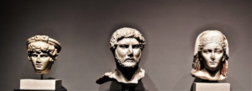 Hadrian, Antinous and Vibia Sabina, Museo Nazionale Romano, Palazzo Massimo alle Terme