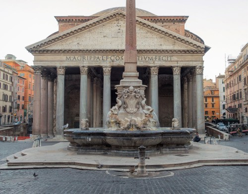 Pantheon, building restored by Hadrian