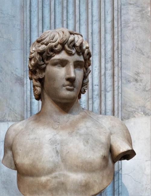 The bust of Antinous, Musei Vaticani