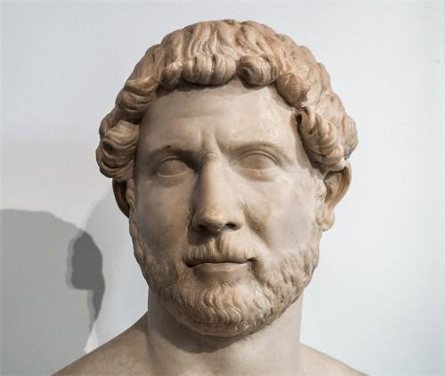 Popiersie cesarza Hadriana, Musei Capitolini