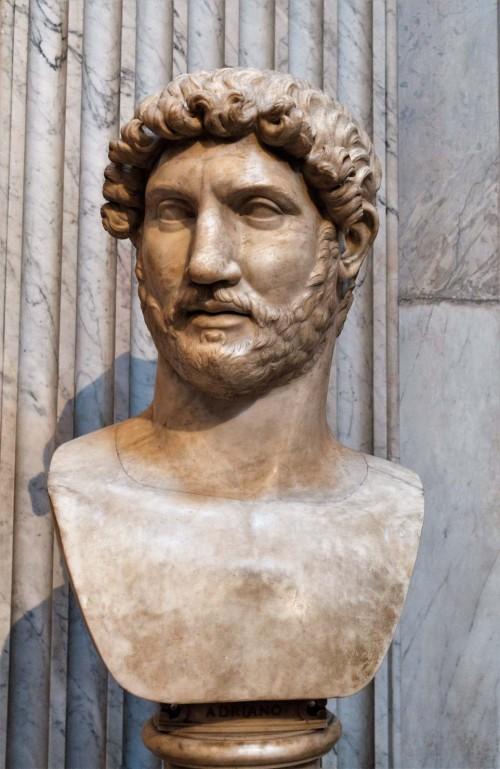 Hadrian's bust, Musei Vaticani