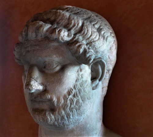 Hadrian's bust, Museo di Castel Sant'Angelo