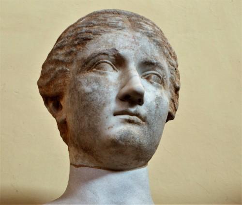 Vibia Sabina, siostrzenica Trajana, żona Hadriana, Musei Vaticani