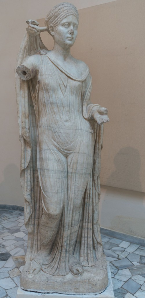 Vibia Sabina (the wife of emperor Hadrian) as Venus Gentrix, Museo Ostia Antica