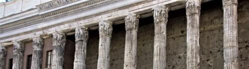 Dawna świątynia Hadriana, fragment