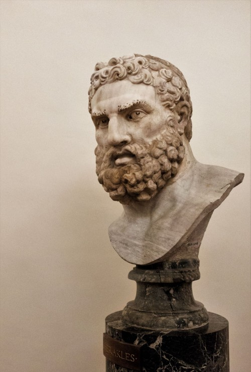 Głowa Herkulesa, Museo Nazionale, Palazzo Altemps