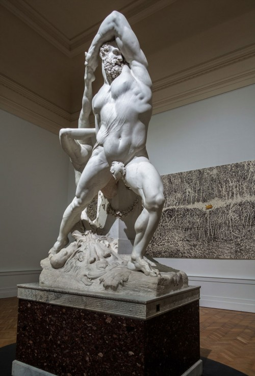 Hercules and Lichas, Antonio Canova, Galleria Nazionale d'Aarte Moderna
