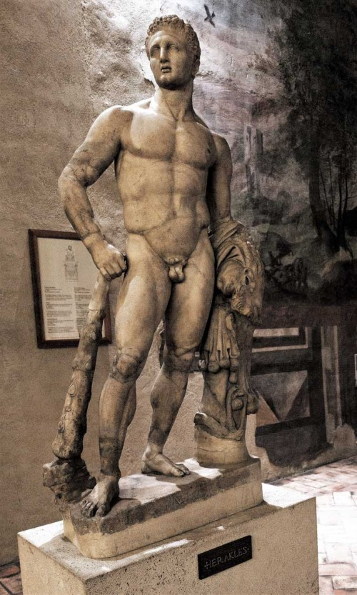 Hercules from Domus Augustea on Palatine Hill, Museo Nazionale, Palazzo Altemps