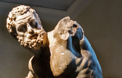 Posąg Herkulesa, fragment, Musei Capitolini