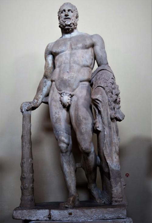 Posąg Herkulesa, Musei Vaticani