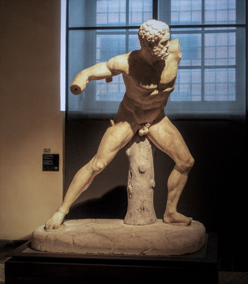 Statue of Hercules Throwing a Stone, Musei Capitolini
