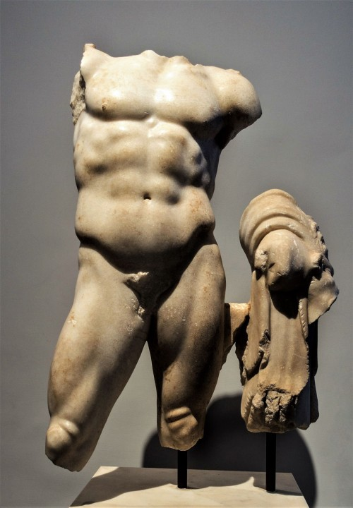 Statue of Young Hercules with a lion's pelt, IV century, Museo Palatino