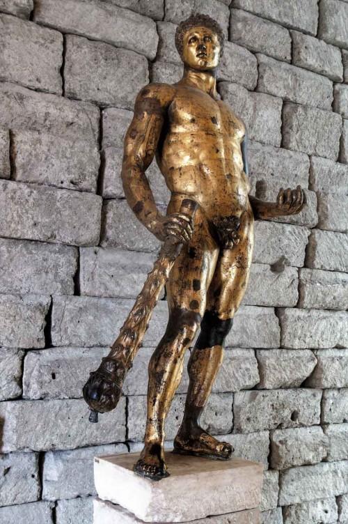 Statue of a gilded Hercules from Forum Boarium, Musei Capitolini