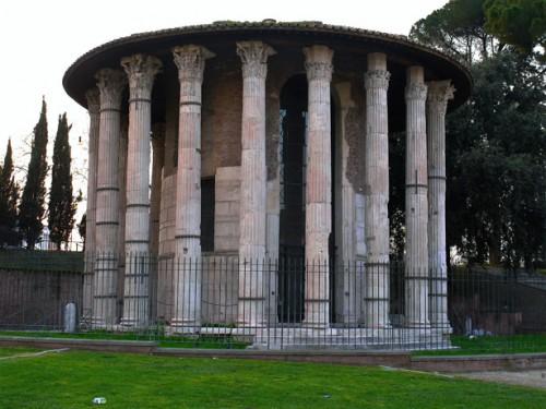Świątynia Herkulesa, Forum Boarium