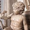 Herkules zabijający węża w kołysce, II w. n.e, Musei Capitolini