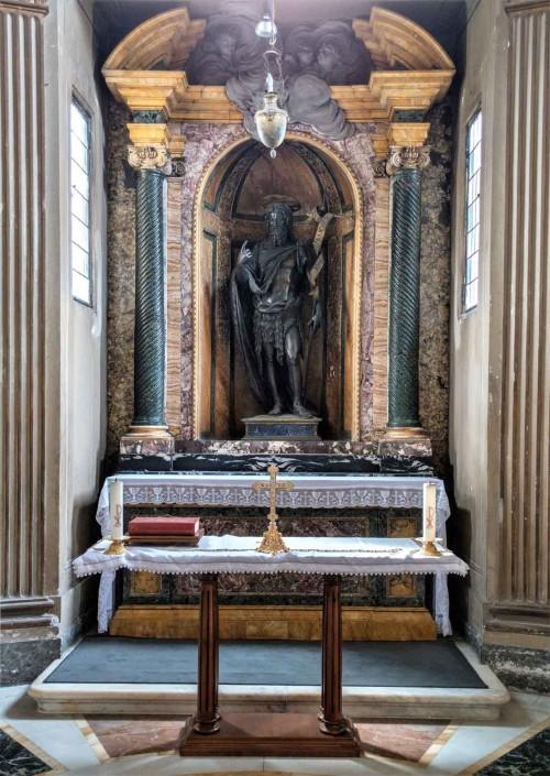Baptysterium San Giovanni in Laterano, kaplica św. Jana Chrzciciela z V w., zmodernizowana w XVIII w.