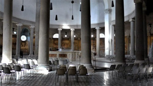 San Stefano Rotondo, wnętrze