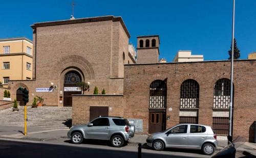 Kościół Sant'Ippolito, viale delle Provincie