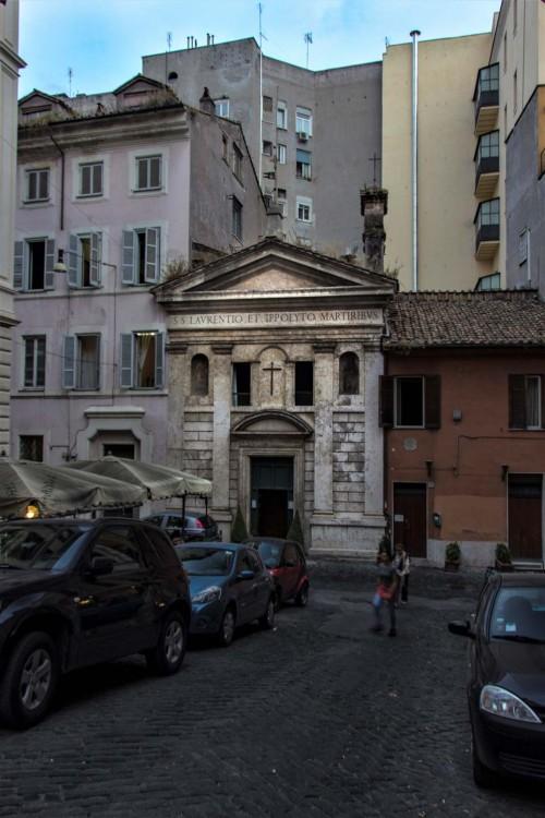 Kościół San Lorenzo in Fonte (Santi Lorenzo e Ippolito), via Urbana