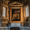 Copy of Caravaggio's painting in the Church of Santa Maria in Vallicella