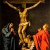 The Crucifixion, Scipione Pulzone, Church of Santa Maria in Vallicella
