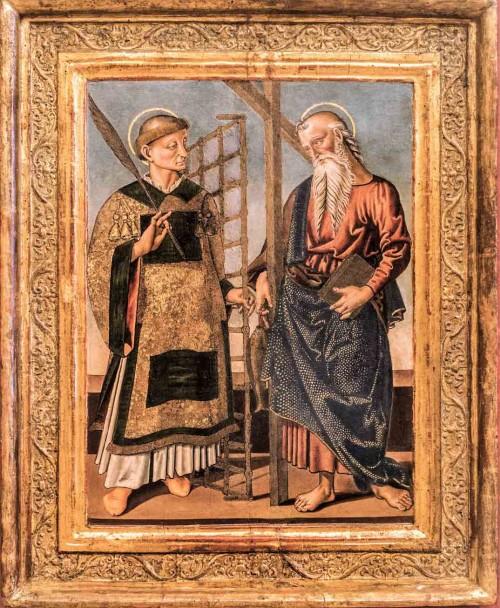 St. Lawrence and St. Andrew (on the right) Bernardino di Mariotto, Galleria Nazionale d'Arte Antica, Palazzo Barberini