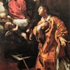 Madonna objawiająca się św. Wawrzyńcowi, Giovanni Lanfranco, Palazzo del Quirinale