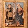 Św. Wawrzyniec i św. Andrzej (po prawej), Bernardino di Mariotto, Galleria Nazionale d'Arte Antica, Palazzo Barberini