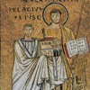 St. Lawrence as the patron of Pope Pelagius (funder of the church), Church of San Lorenzo fuori le mura