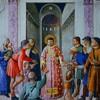 Św. Wawrzyniec rozdający biednym i chorym jałmużnę, Fra Angelico, Kaplica papieża Mikołaja V, pałac Apostolski